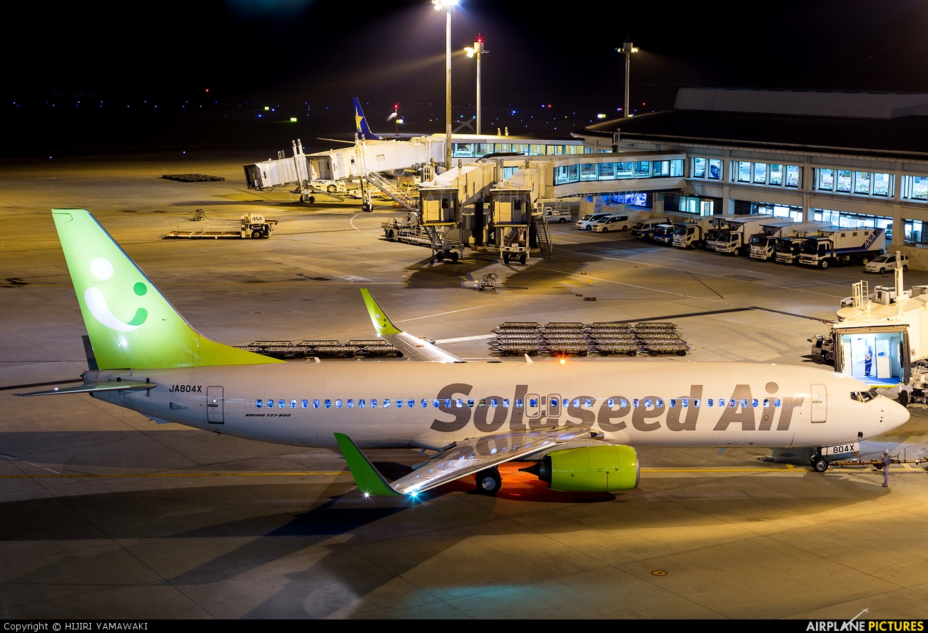 Solaseed Air - Skynet Asia Airways JA804X aircraft at Naha
