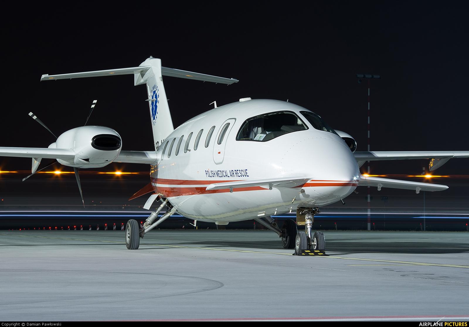 Polish Medical Air Rescue - Lotnicze Pogotowie Ratunkowe SP-MXI aircraft at Bydgoszcz - Szwederowo