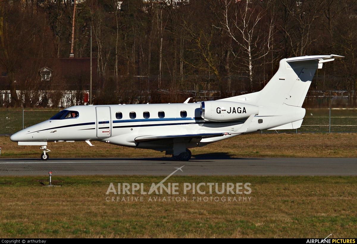 London Executive Aviation G-JAGA aircraft at Bern - Belp
