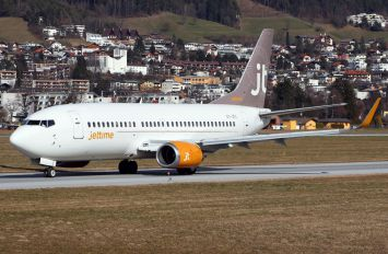 OY-JTC - Jet Time Boeing 737-300