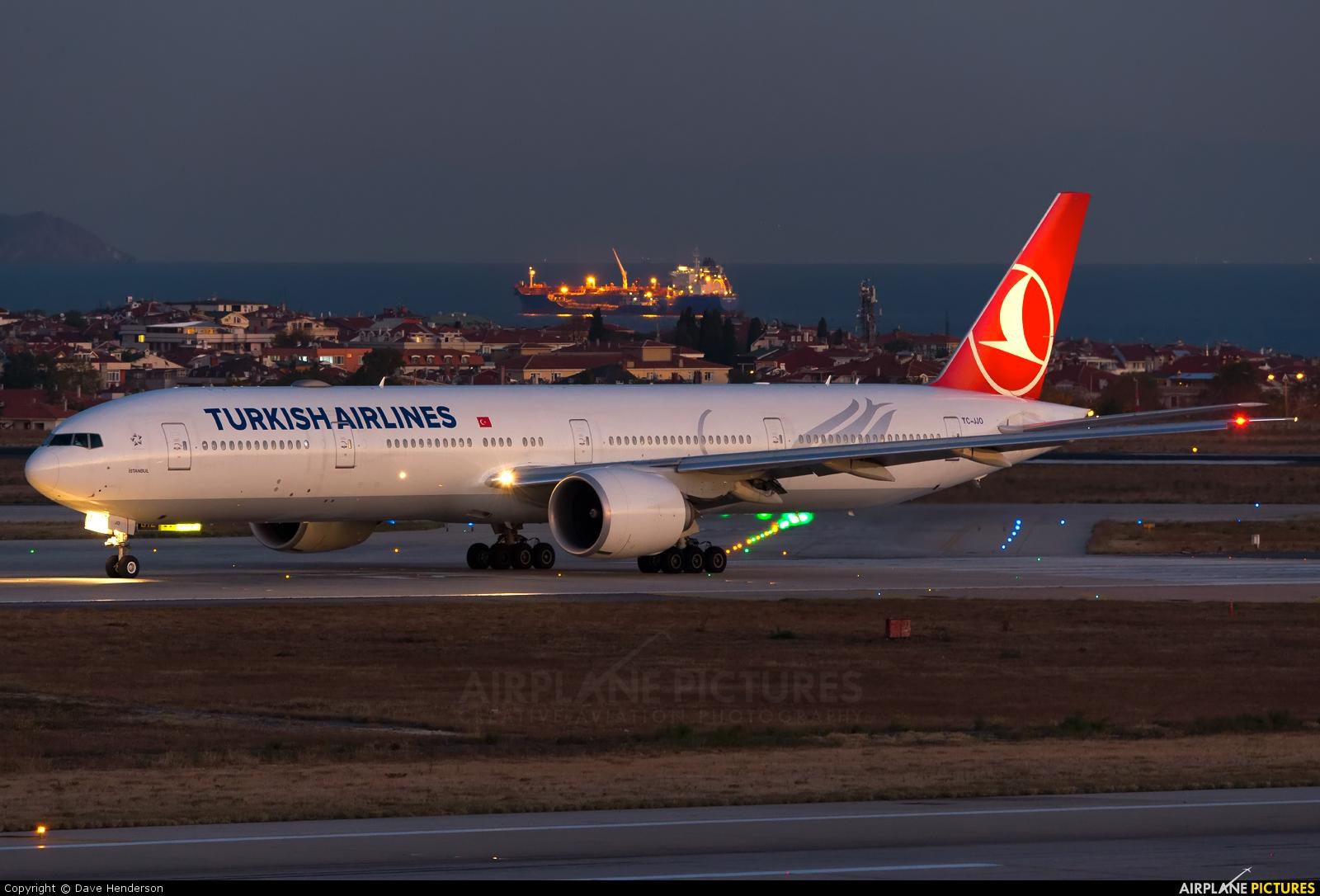 Turkish Airlines TC-JJO aircraft at Istanbul - Ataturk