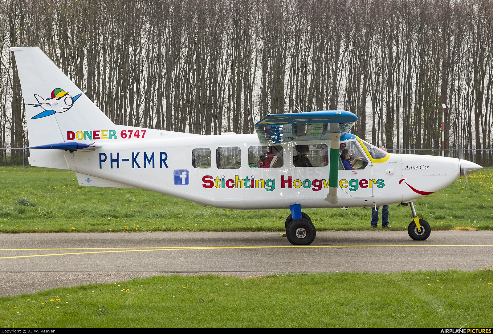 Stichting Hoogvliegers PH-KMR aircraft at Lelystad