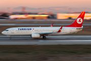 TC-JFJ - Turkish Airlines Boeing 737-800 aircraft