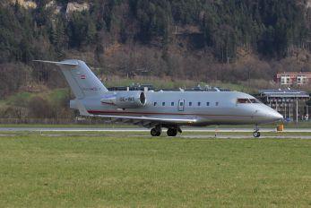 OE-INY - Vistajet Canadair CL-600 Challenger 604