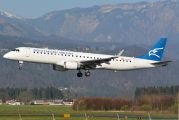 4O-AOC - Montenegro Airlines Embraer ERJ-195 (190-200) aircraft