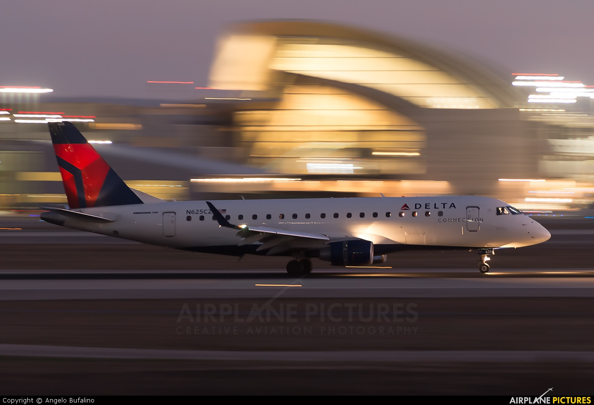 Delta Connection - Compass Airlines N625CZ aircraft at Los Angeles Intl