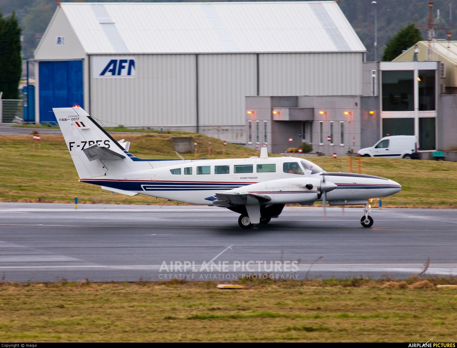 France - Government F-ZBES aircraft at La Coruña
