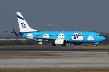 4X-EKM - El Al - UP Boeing 737-800