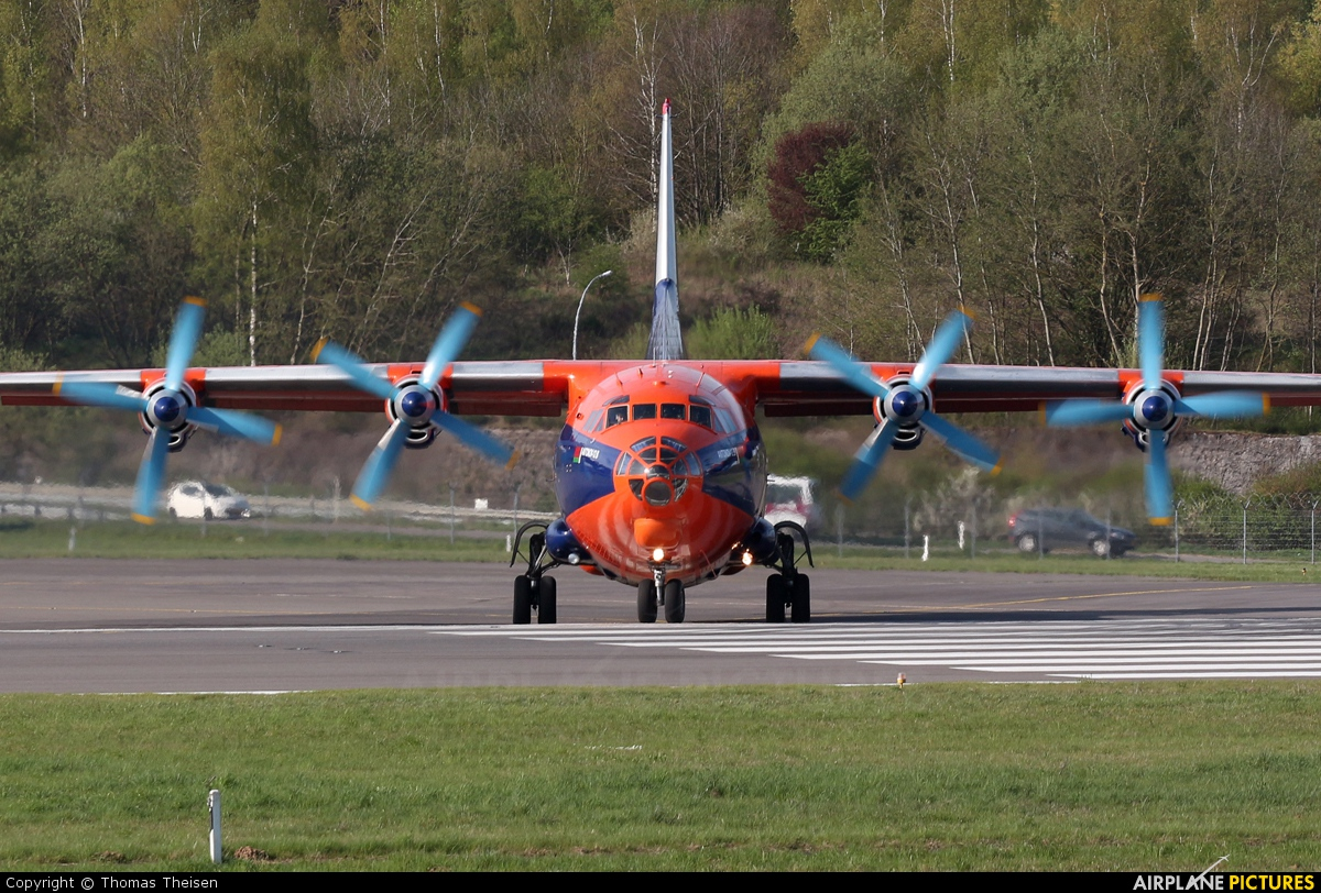 Ruby Star Air Enterprise EW-394TI aircraft at Luxembourg - Findel