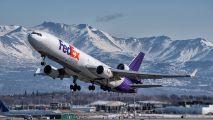 N588FE - FedEx Federal Express McDonnell Douglas MD-11F aircraft