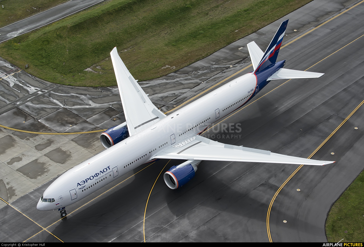 Aeroflot VQ-BQE aircraft at Everett - Snohomish County / Paine Field