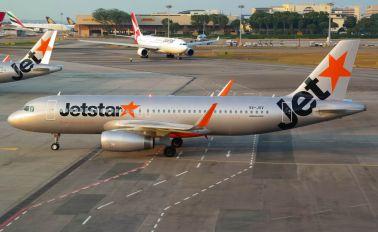 9V-JSV - Jetstar Asia Airbus A320