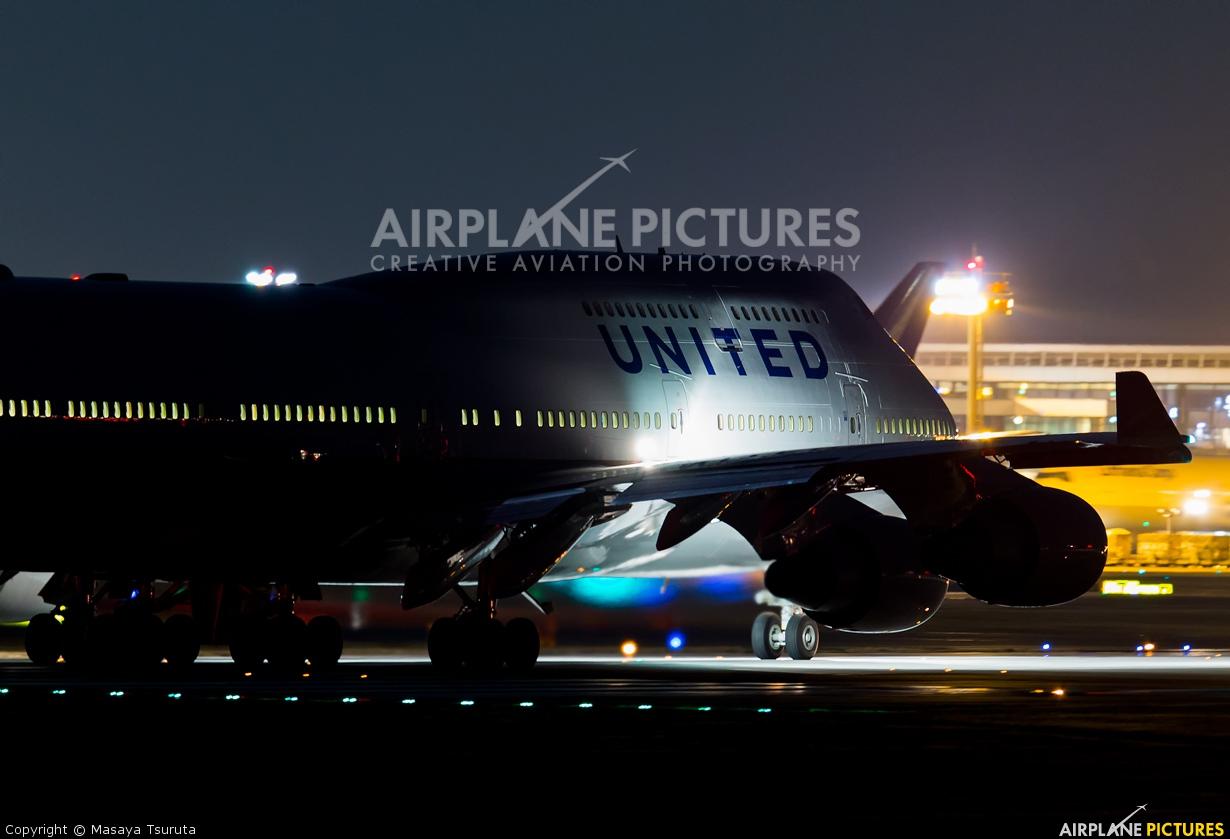 United Airlines N182UA aircraft at Tokyo - Narita Intl