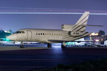 VP-BLM - Monarch General Aviation Dassault Falcon 900 series