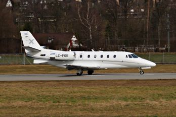 LX-FGB - Luxaviation Cessna 560XL Citation XLS