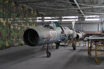 523 - Bulgaria - Air Force Mikoyan-Gurevich MiG-21bis