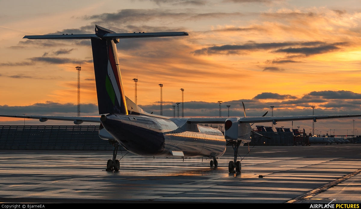 Malev HA-LQC aircraft at Copenhagen Kastrup