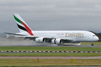 A6-EEN - Emirates Airlines Airbus A380