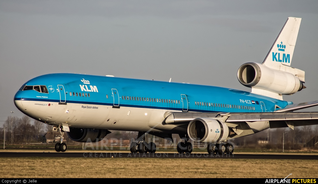 KLM PH-KCE aircraft at Amsterdam - Schiphol