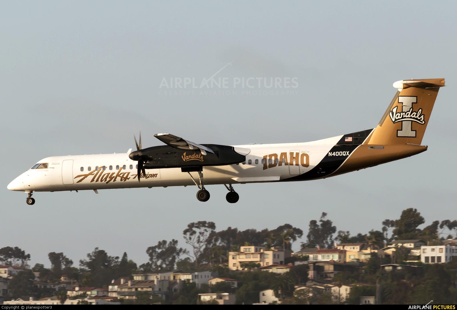 Alaska Airlines - Horizon Air N400QX aircraft at San Diego - Lindbergh Field