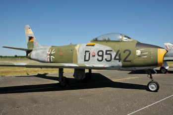 D-9542 - Germany - Air Force Canadair CL-13 Sabre (all marks)