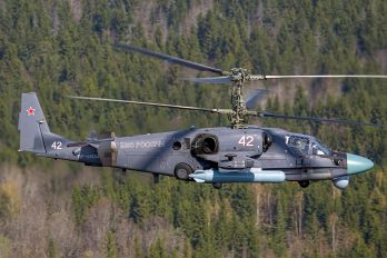 42 - Russia - Air Force Kamov Ka-52 Alligator