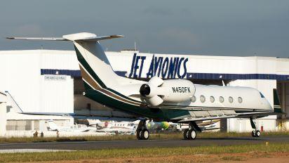 N450FK - Private Gulfstream Aerospace G-IV,  G-IV-SP, G-IV-X, G300, G350, G400, G450