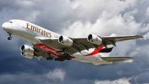 F-WWSF - Emirates Airlines Airbus A380 aircraft