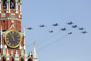 "- - Russia - Air Force ""Falcons of Russia"" Sukhoi Su-27UB"