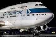 B-HKU - Cathay Pacific Boeing 747-400 aircraft