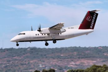 VH-QQA - Skytrans de Havilland Canada DHC-8-100 Dash 8