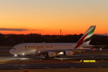 A6-EDK - Emirates Airlines Airbus A380