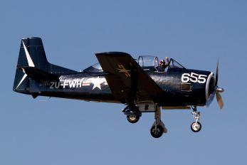 ZU-FWH - Private North American AT-28D Trojan