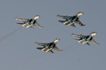 "- - Russia - Air Force ""Russian Knights"" Sukhoi Su-27UB"
