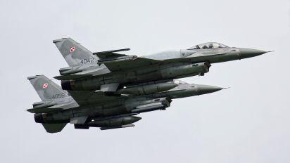 4042 - Poland - Air Force Lockheed Martin F-16C Jastrząb
