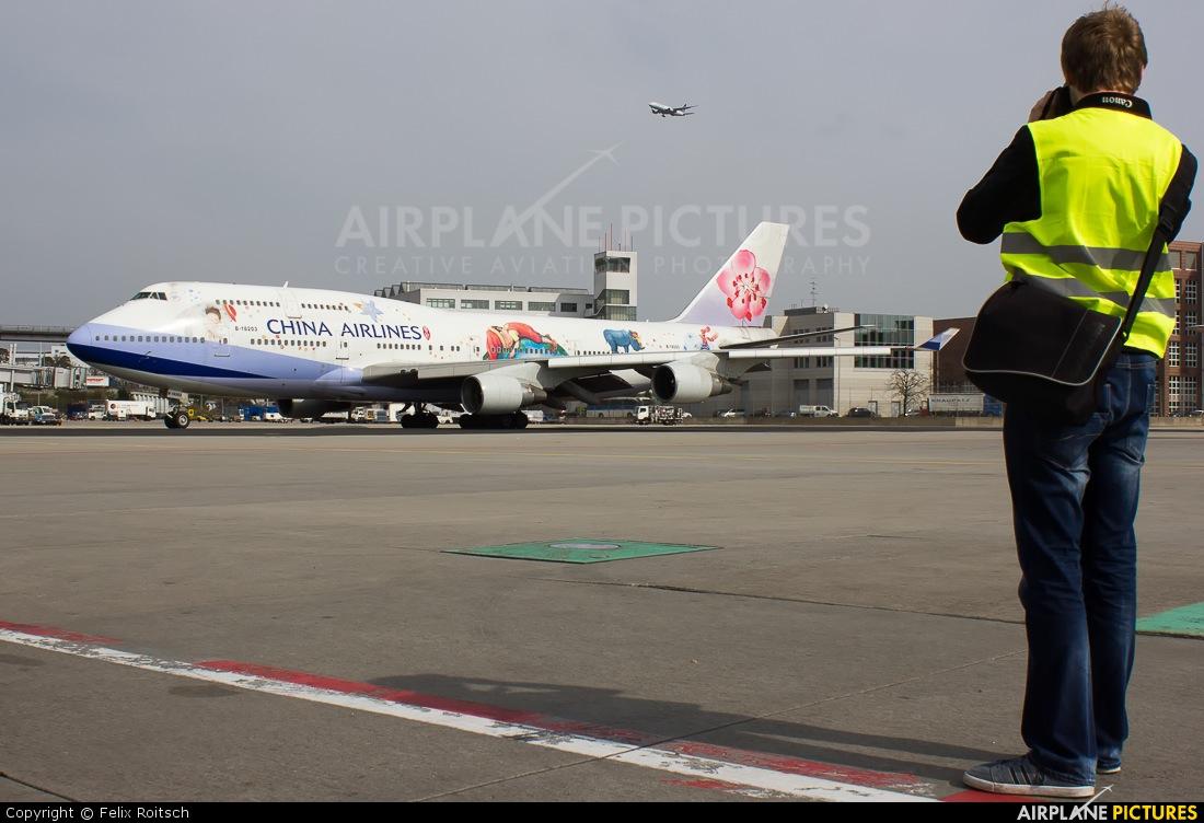 China Airlines B-18203 aircraft at Frankfurt