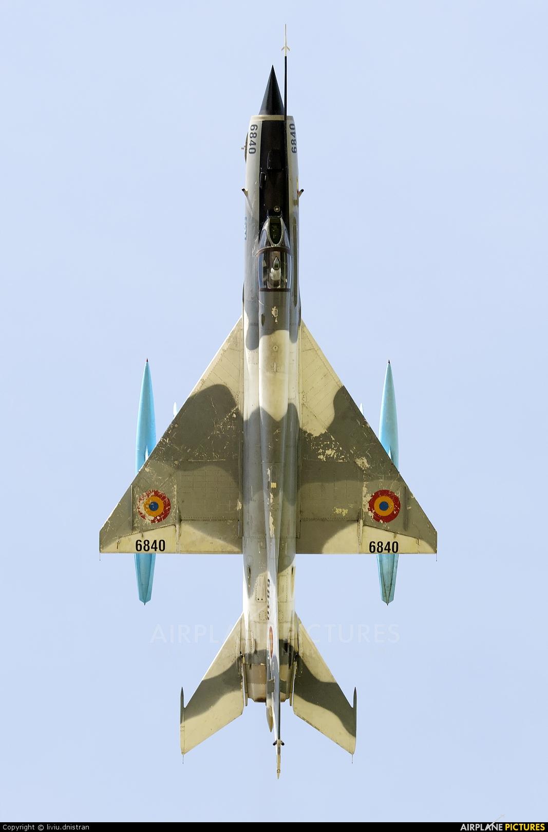 Romania - Air Force 6840 aircraft at Cluj Napoca - Someseni