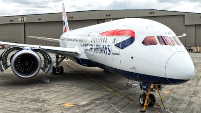 G-ZBJG - British Airways Boeing 787-8 Dreamliner
