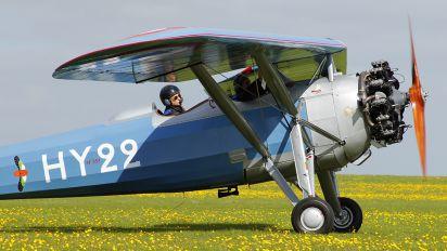 G-MOSA - Private Morane Saulnier MS.317