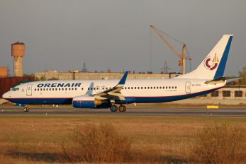 VQ-BEN - Orenair Boeing 737-800