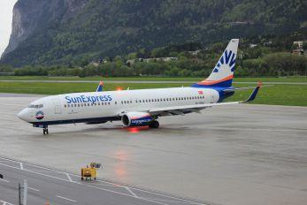 TC-SNU - SunExpress Boeing 737-800