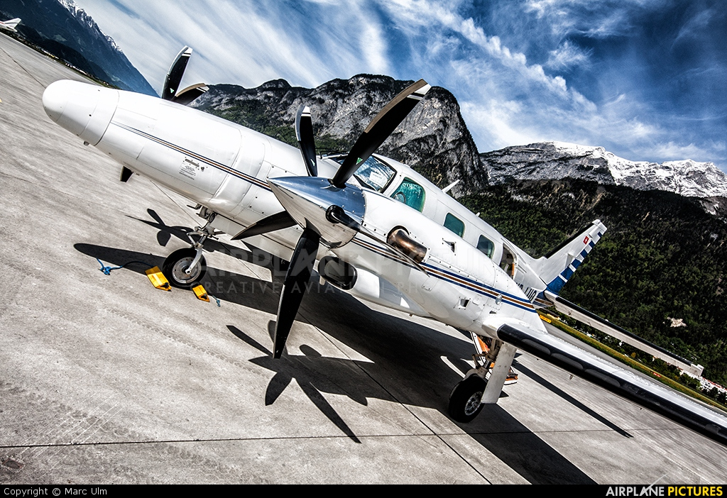Swiss Private Flights HB-LUQ aircraft at Innsbruck