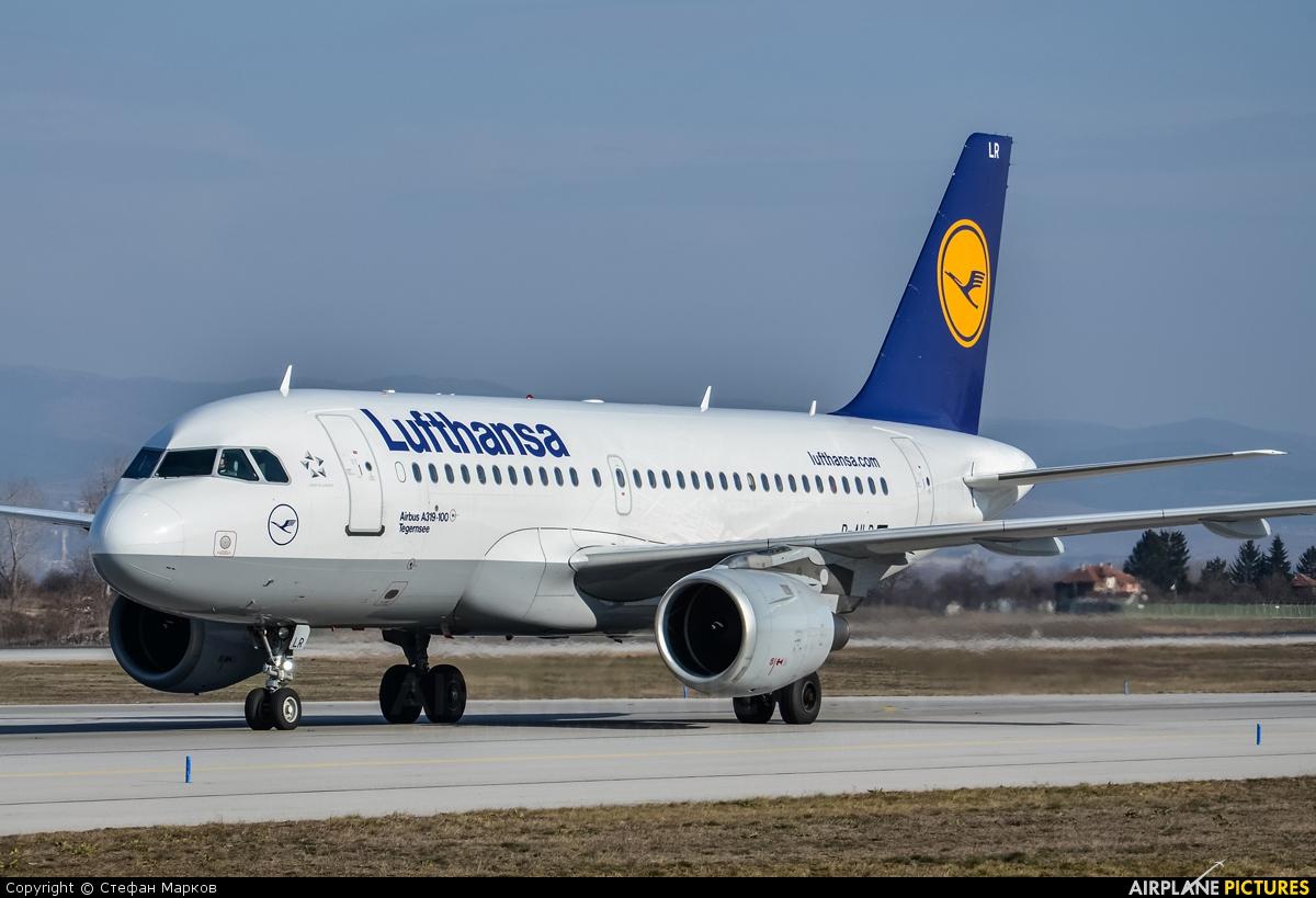 Lufthansa D-AILR aircraft at Sofia