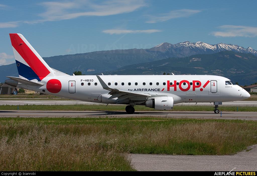 Air France - Hop! F-HBXO aircraft at Verona - Villafranca