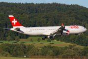 HB-JMF - Swiss Airbus A340-300 aircraft