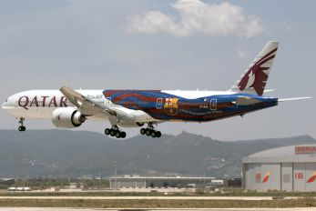 A7-BAE - Qatar Airways Boeing 777-300ER