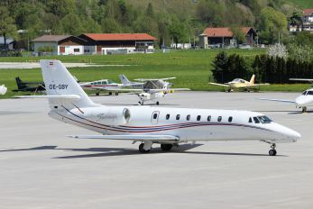 OE-GBY - MAP Executive FlightService Cessna 680 Sovereign