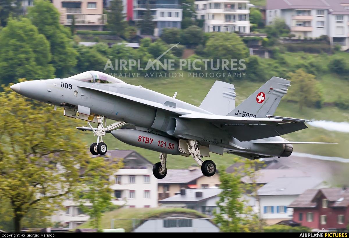 Switzerland - Air Force J-5009 aircraft at Buochs