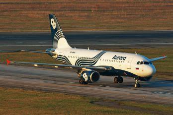 VP-BWK - Aurora Airbus A319