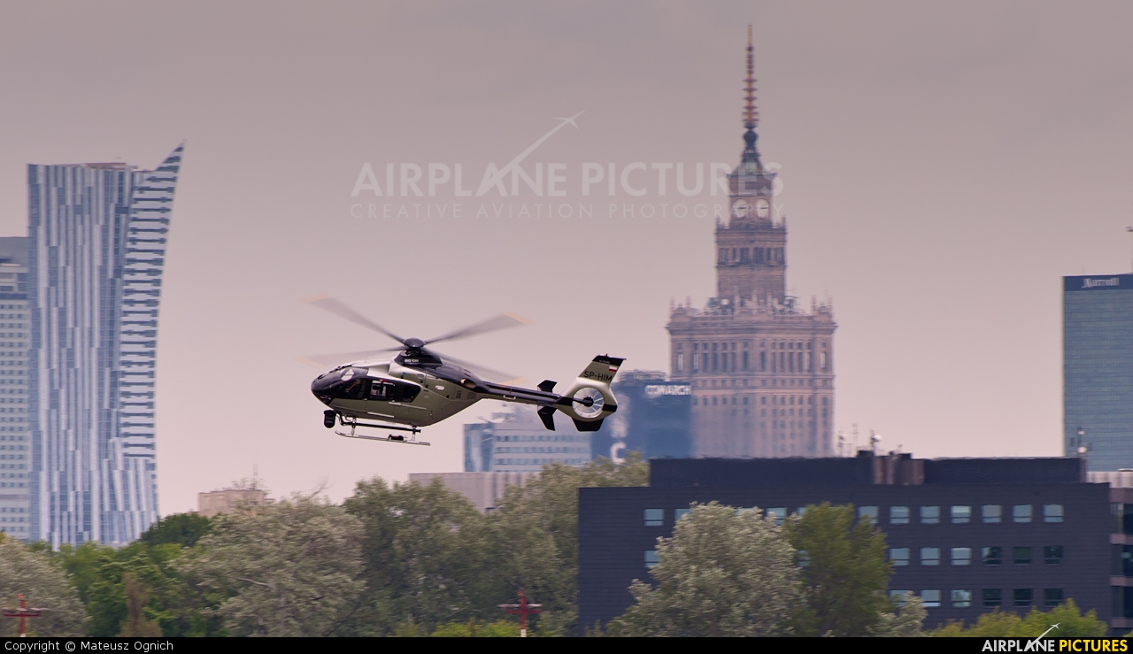 Private SP-HIM aircraft at Warsaw - Frederic Chopin